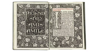 Of The Friendship Of Amis And Amile. William Morris, Kelmscott Press