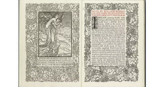 A Note By William Morris On His Aims In Founding The Kelmscott Press; Together With A Short...