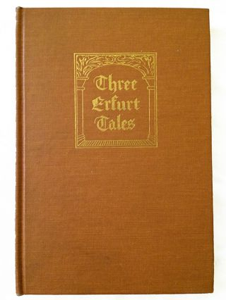 Three Erfurt Tales 1497-1498. A. H. Price