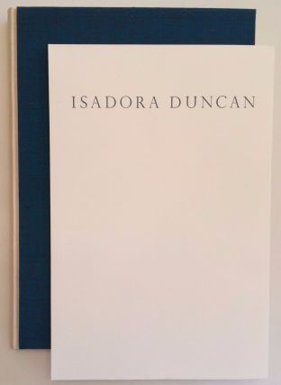 Isadora Duncan & Gordon Craig. The Prose & Poetry Of Action. Cynthia Splatt.
