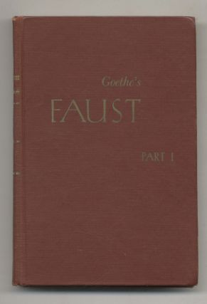 Goethe's Faust Introduction Part 1: Text And Notes