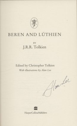 Beren And Luthien - 1st Edition/1st Printing