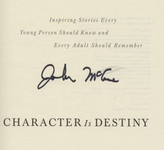 Character Is Destiny - 1st Edition/1st Printing