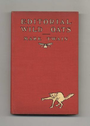 Editorial Wild Oats - 1st Edition/1st Printing