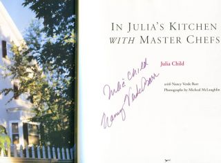 In Julia's Kitchen With Master Chefs - 1st Edition/1st Printing