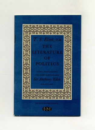 The Literature Of Politics - 1st Edition/1st Printing