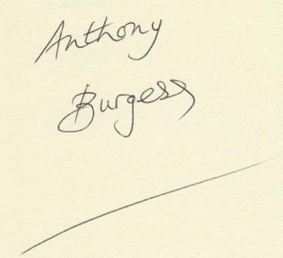 The Kingdom of the Wicked - 1st Edition/1st Printing. Anthony Burgess