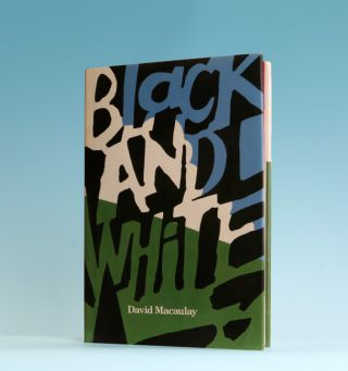 Black And White - 1st Edition/1st Printing. David Macaulay