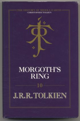 Morgoth's Ring - 1st Edition/1st Printing. J. R. R. Tolkien, Christopher Tolkien