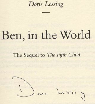 Ben, in the World - 1st US Edition/1st Printing
