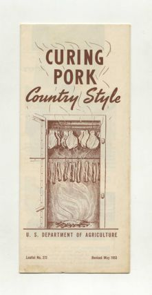 Curing Pork Country Style