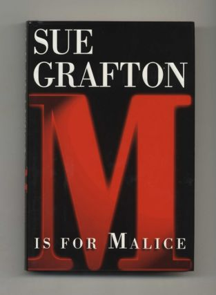 M Is For Malice - 1st Edition/1st Printing