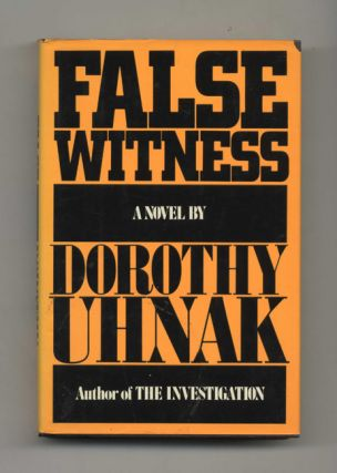 False Witness - 1st Edition/1st Printing