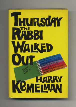 Thursday the Rabbi Walked Out - 1st Edition/1st Printing