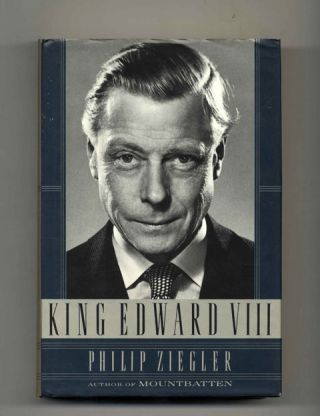 King Edward VIII - 1st US Edition/1st Printing