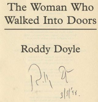 The Woman Who Walked Into Doors - 1st UK Edition/1st Printing
