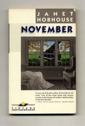 November - 1st Edition/1st Printing. Janet Hobhouse