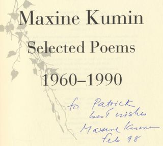 Selected Poems, 1960-1990 -1st Edition/1st Printing