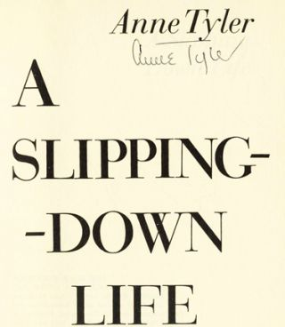 A Slipping Down Life - 1st Edition/1st Printing