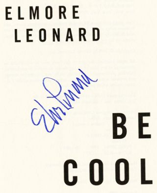 Be Cool - 1st Edition/1st Printing
