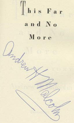 This Far and No More - 1st Edition/1st Printing