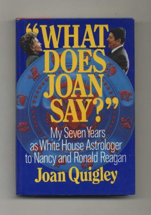 What Does Joan Say? - 1st Edition/1st Printing