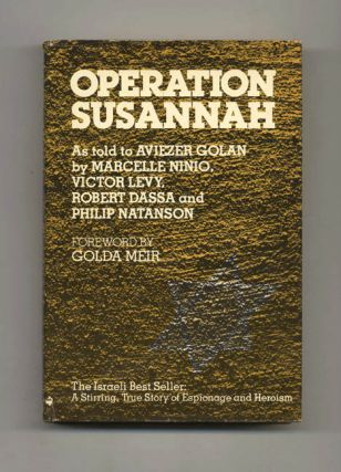 Operation Susannah - 1st US Edition/1st Printing