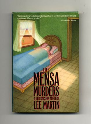 The Mensa Murders - 1st Edition/1st Printing