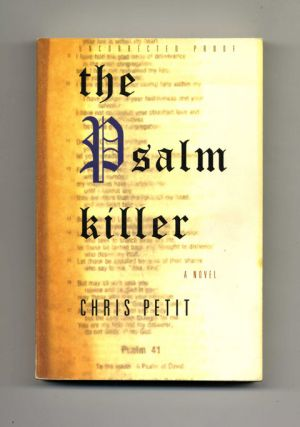 The Psalm Killer - Uncorrected Proof