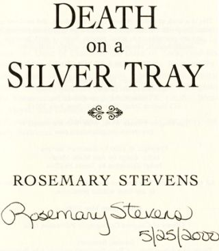 Death on a Silver Tray - 1st Edition/1st Printing