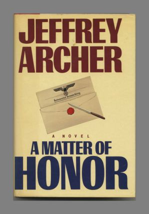 A Matter of Honor - 1st Edition/1st Printing