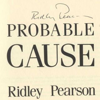 Probable Cause - 1st Edition/1st Printing
