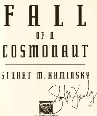 Fall of a Cosmonaut - 1st Edition/1st Printing