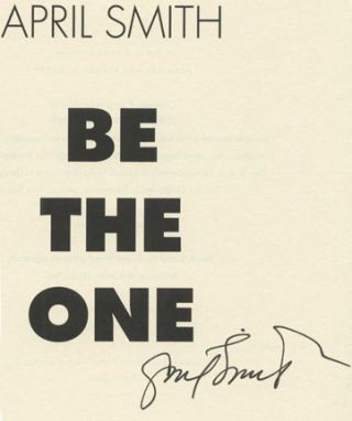 Be the One - 1st Edition/1st Printing