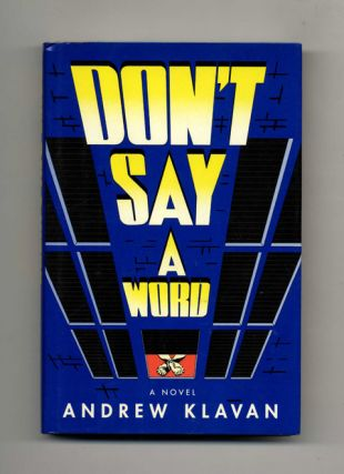 Don't Say A Word - 1st Edition/1st Printing