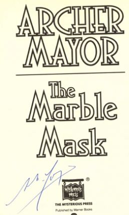 The Marble Mask - 1st Edition/1st Printing