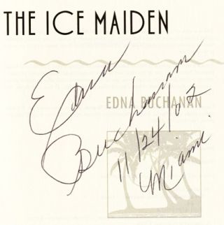 The Ice Maiden - 1st Edition/1st Printing