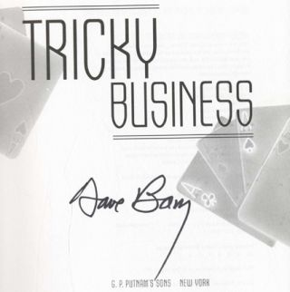 Tricky Business - 1st Edition/1st Printing