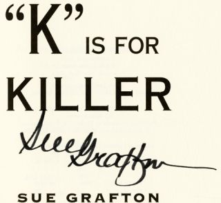 """K"" Is For Killer - 1st Edition/1st Printing"