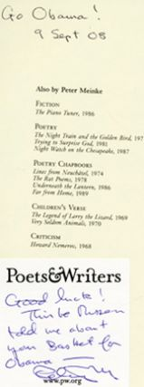 Liquid Paper: New and Selected Poems - 1st Edition/1st Printing