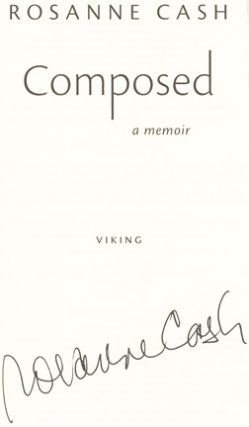Composed: A Memoir - 1st Edition/1st Printing