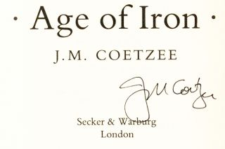 Age of Iron - 1st Edition/1st Printing