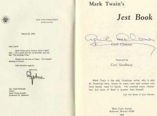 Mark Twain's Jest Book