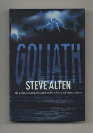 Goliath - 1st Edition/1st Printing. Steve Alten