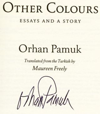 orhan pamuk essays This collection of essays brings together some of the finest pieces hitchens published over the last two decades for the first time  che guevara : goodbye to all that -- orwell's list -- orhan pamuk : mind the gap -- bring on the mud -- ohio's odd numbers -.