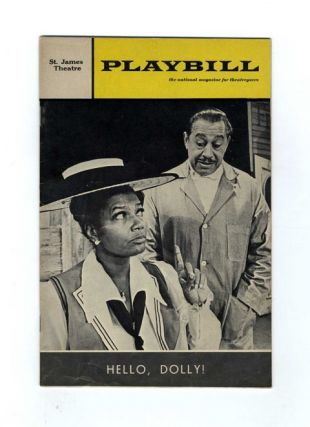 Playbill: Volume 5, Issue 7 (July 1968) ; David Merrick Presents Pearl Bailey in Hello, Dolly!...