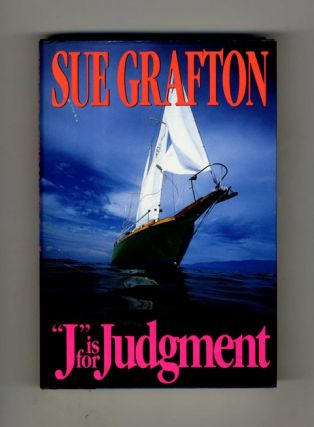 """J"" is for Judgment - 1st Edition/1st Printing"