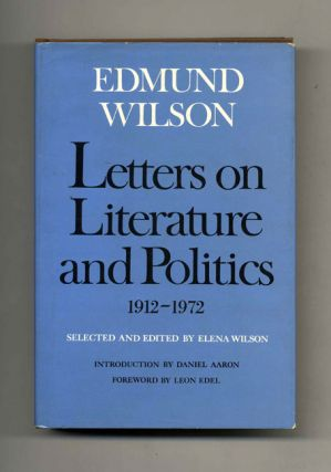 Letters on Literature and Politics 1912-1972