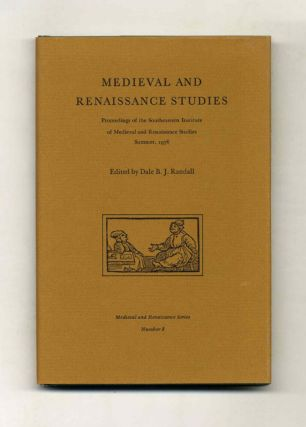 Medieval and Renaissance Studies
