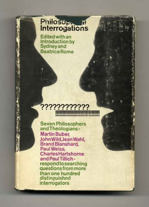 Philosophical Interrogations - 1st Edition/1st Printing